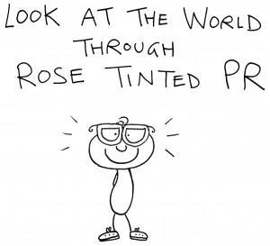 rose tinted PR