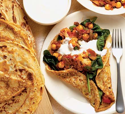 spicy vegetable pancake