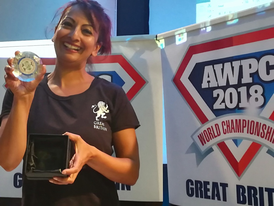 Aneela Rose Powerlifting World Champion